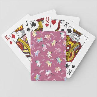 Mustachio Unicornio Poker Deck