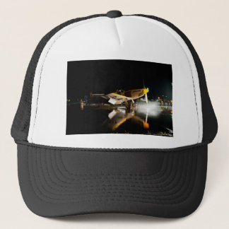 Mustang at Night Trucker Hat