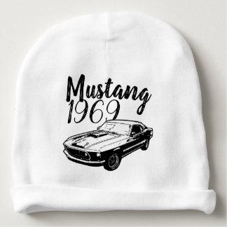 Mustang Baby Beanie