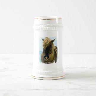 Mustang Beer Stein