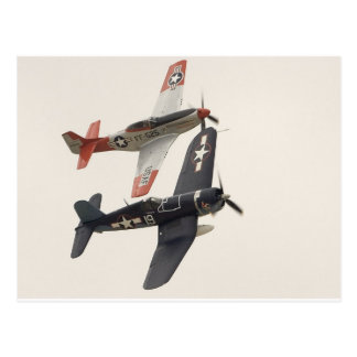 Mustang & Corsair Postcard