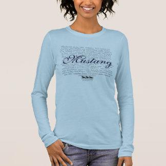 Mustang Descriptive Womens Long Sleeve Long Sleeve T-Shirt