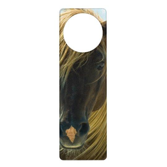 Mustang Horse Door Hanger