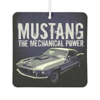 Mustang mechanical power car air freshener