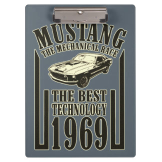 Mustang mechanical power clipboard