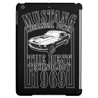 Mustang mechanical power iPad air case