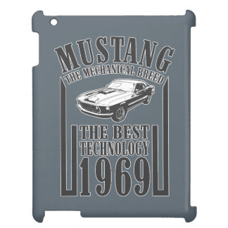 Mustang mechanical power iPad case