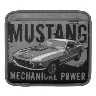 Mustang mechanical power iPad sleeve