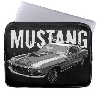 Mustang mechanical power laptop sleeve