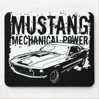 Mustang mechanical power mouse pad