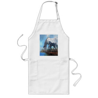 Mustang Morning Long Apron