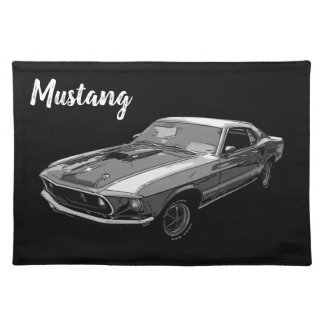 Mustang Placemat
