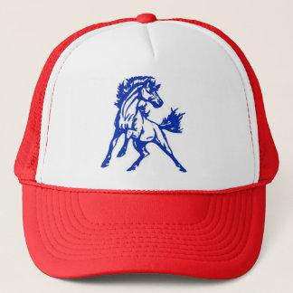Mustang Tie Trucker Hat