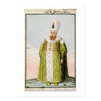 Mustapha I (1591-1639) Sultan 1617-18, 1622-23, fr Postcard