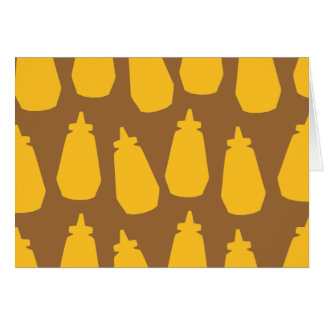 Mustard Bottles Card