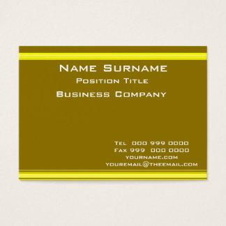 Mustard Business Card