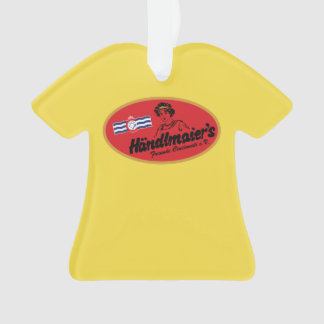 Mustard Club T-shirt Ornament