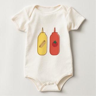Mustard & Ketchup Baby Bodysuit