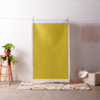 Mustard or Sulphur Yellow Solid Colour Fabric