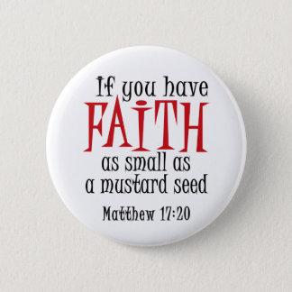 Mustard Seed 2 Inch Round Button