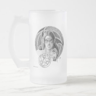 Musteleila Frosted Mug
