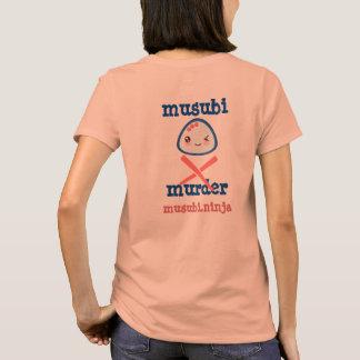 Musubi Murder Kawaii Design T-Shirt