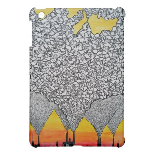"""Mutant Pollutant"" ipad cover"