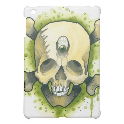 Mutant Skull & Bones Case For The iPad Mini