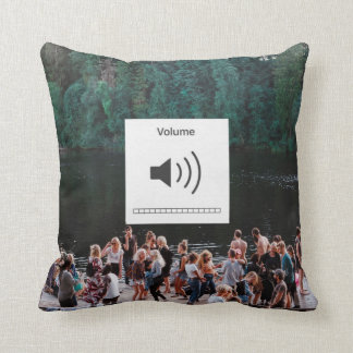 Mute and Volume on Pillow