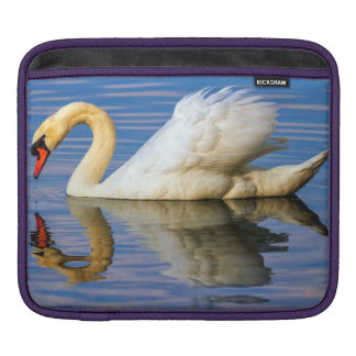 Mute swan, cygnus olor iPad sleeve