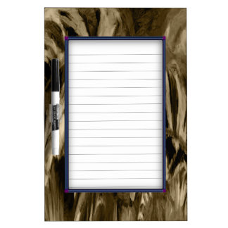 Muted Beauty Dry Erase Board