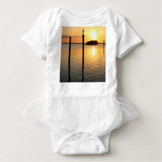 Muted Mirage Baby Bodysuit