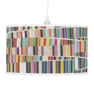 Muted Multicolor Swatches Ceiling Lamp