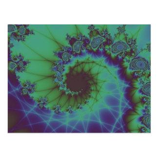 Muted Spiral Postcard