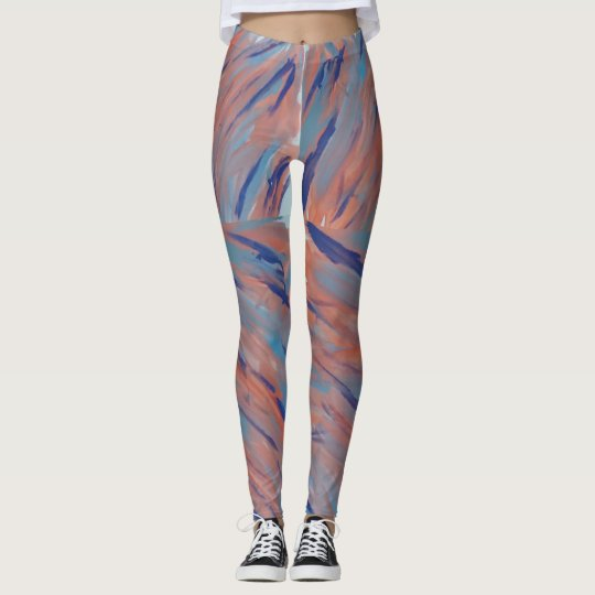 Muted Tones Leggings