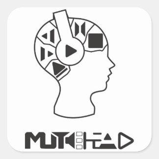 MuteHead Sticker