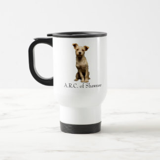 mutt, A.R.C. of Shawnee, Animal Rescue Centerof... Travel Mug
