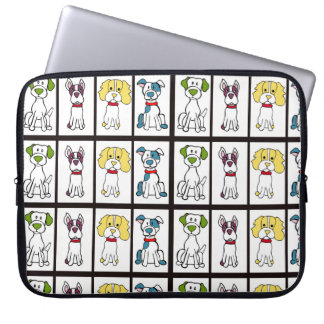 Mutt Dog Laptop Sleeve