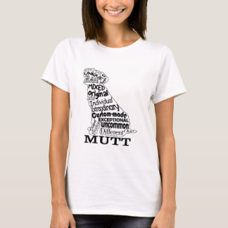 Mutt Dog Lover's Casual Apparel T-Shirt