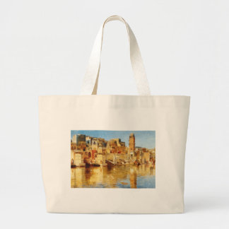 Muttra by Edwin Lord Weeks Large Tote Bag