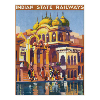 ~ Muttra de l'Inde de visite Cartes Postales
