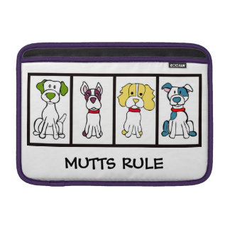 Mutts Rule Macbook Sleeve