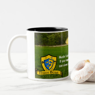 Muzzle Flash: If your round misses them........ Two-Tone Coffee Mug