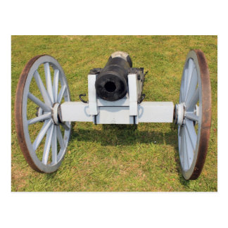 Muzzleloading Cannon Postcard
