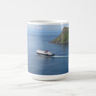 MV Hebrides leaving Uig Isle-of-Skye Coffee Mug