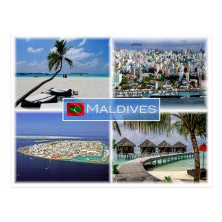 MV Maldives - Postcard