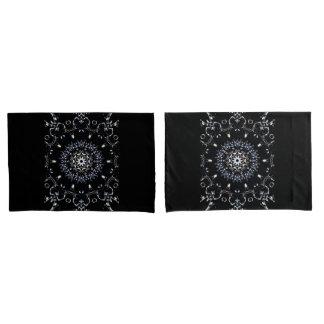 MVB Elegant Lace Pattern Standard Pillow case set Pillowcase