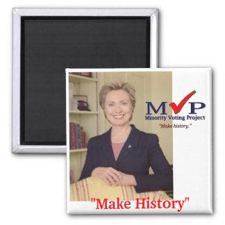 MVP Hillary Clinton magnet