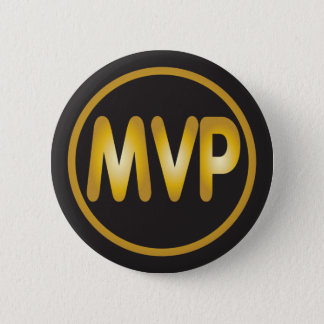 MVP most valuable player badge 2 Inch Round Button