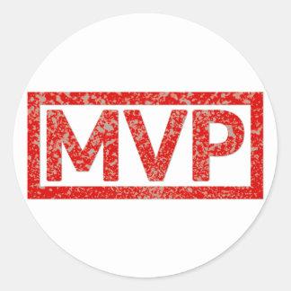 MVP Stamp Classic Round Sticker